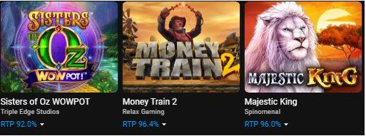 Trò chơi đánh bạc do Cloudbet cung cấp