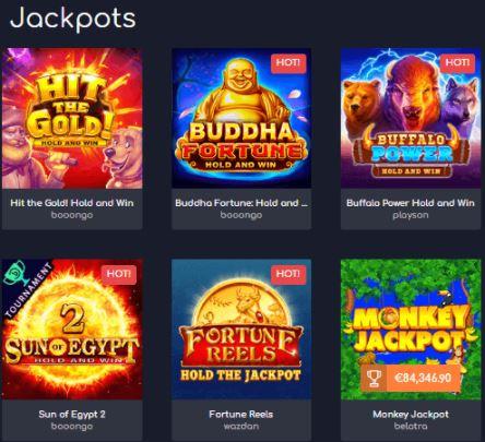 Chơi các trò chơi Jackpot và thắng lớn tại Wild Tornado