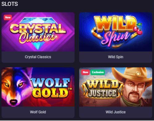 Trò chơi Slots của BitStarz
