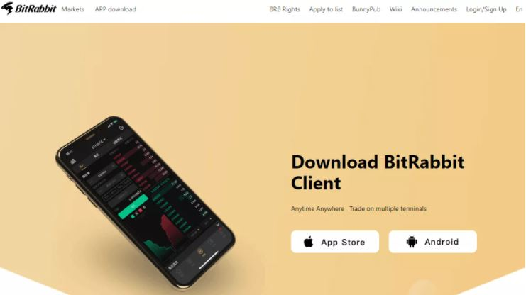 Ứng dụng di động BitRabbit