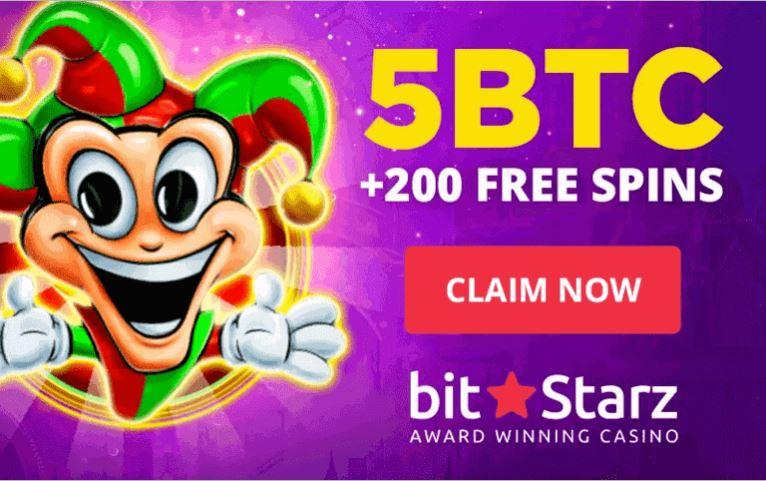 Ưu đãi tiền thưởng sòng bạc BitStarz